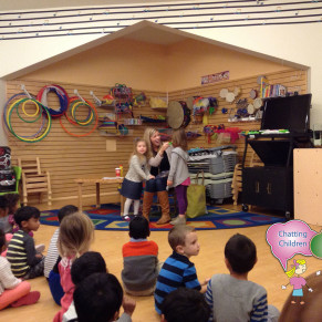 A Speech Therapy School Visit by Chatting Children Speech and Language Center in Ashburn, VA